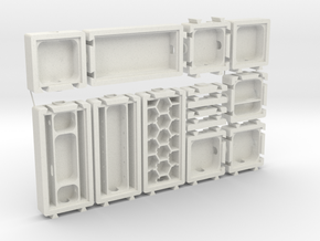 Modular Formicarium Kit in White Strong & Flexible