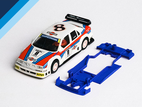 1/32 Ninco Alfa Romeo 155 DTM Chassis in Blue Strong & Flexible Polished