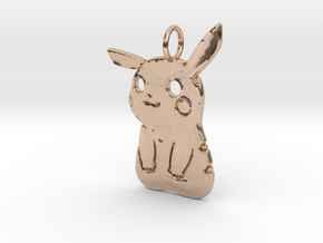 PikaBoo Pendant in 14k Rose Gold Plated