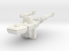 Starfleet Cargo Ship in White Strong & Flexible
