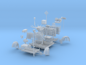 LRV Parts-left in Frosted Ultra Detail