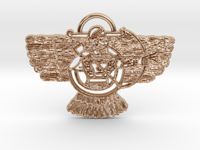 Ashur Pendant in 14k Rose Gold Plated