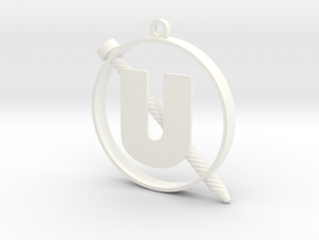 Screw-U in White Strong & Flexible Polished