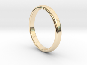 Ring Band Size 8 in 14k Gold Plated