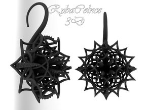 Plugs / gauges/ The Cthulhu/ 14 g (1,6 mm) in Black Strong & Flexible