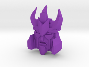 Maniac Tyrant Faceplate in Purple Strong & Flexible Polished