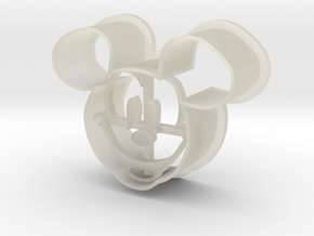 MickeyMouse in Transparent Acrylic
