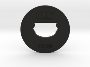 Clay Extruder Die: Footer 002 03 in Black Strong & Flexible