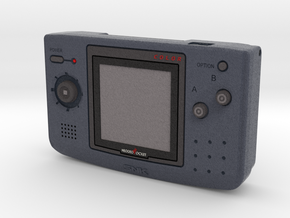 1:6 SNK NGPC (Carbon) in Full Color Sandstone