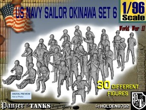 1/96 US Navy Okinawa Set 6 in Frosted Ultra Detail