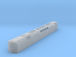 """N Scale F40DDPH """"B"""" Unit w/Louvered Side Panels in Frosted Ultra Detail"""