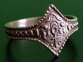 Ring of Favor and Protection, Size 8.5 in Raw Bronze
