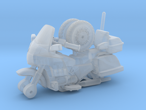 1/87 Scale Motorcycle Cruiser in Frosted Ultra Detail