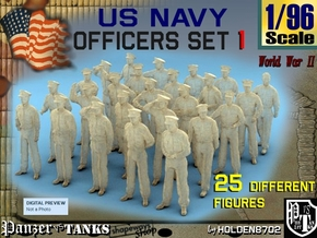 1-96 USN Officers Set1 in Frosted Ultra Detail
