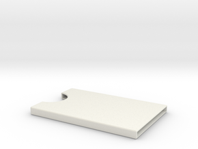 Card Holder for 5 cards in White Strong & Flexible