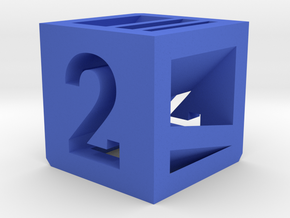 Photogrammatic Target Cube 2 in Blue Strong & Flexible Polished