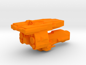 Narrater-class Ark in Orange Strong & Flexible Polished