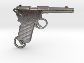 Frommer Gun 1910 in Polished Nickel Steel