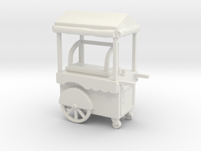 FoodCart Ver01 1:96 Scale in White Strong & Flexible