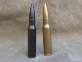 7.62x51 mm NATO in Black Strong & Flexible