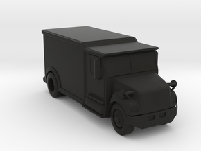 Armored Truck w/ Mirrors, Hollowed, 1/64 Code 3 in Black Strong & Flexible