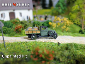 Peugeot 201 T Camionnette (N 1:160) in Frosted Ultra Detail