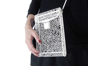 Voronoi bag #1 in White Strong & Flexible