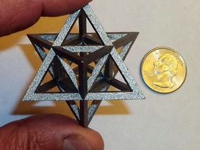 Tantric Star in Stainless Steel