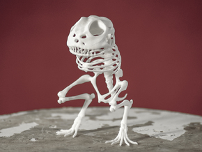 Canvey Island Monster Skeleton in White Strong & Flexible