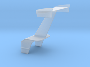 Wing With Motor Box Mt in Smooth Fine Detail Plastic