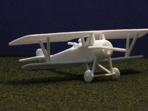 1/144 Nieuport 12bis in White Strong & Flexible