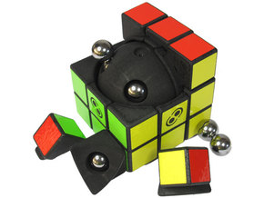 Superclick Cube in White Strong & Flexible