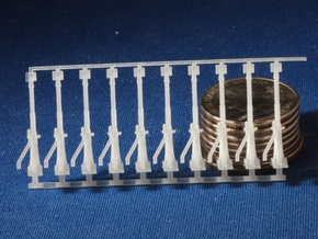 Canadian National Switch Stands HO Scale x30  in Frosted Ultra Detail