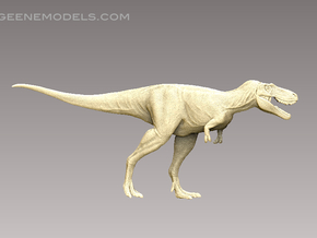 DInosaur Tyrannosaurus Juvenile Jane1:72 v1scaly in Frosted Ultra Detail
