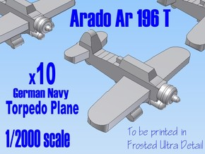 10 X 1-2000 Arado 196 For FUD in Frosted Ultra Detail