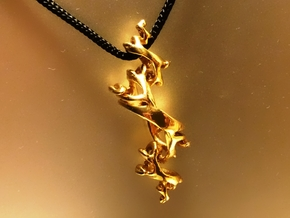 Julia Pendant in 18K Gold Plated