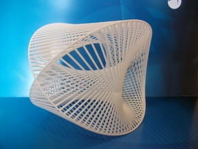 Spatial Cardioid Formlabs 3 in White Strong & Flexible