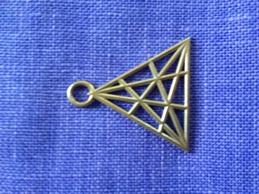 Triangle in Raw Bronze