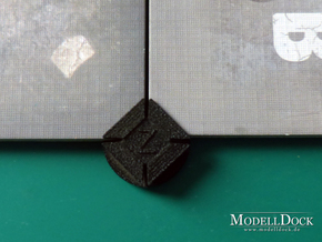 Tile Connector for Zombicide board game in Black Strong & Flexible