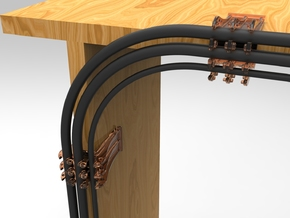 Cable Snap, keep all your cables organized neatly  in White Strong & Flexible