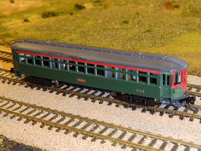 CNSM 712 - 733 series coach in Smooth Fine Detail Plastic