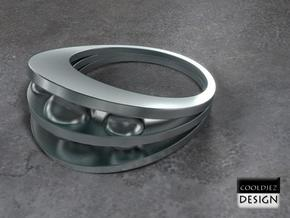 Ring - Bend3 in Stainless Steel