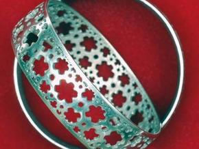 HyperBracelet I  in Polished Silver