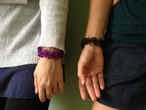 The Amazing Ant Bracelet in Purple Strong & Flexible Polished