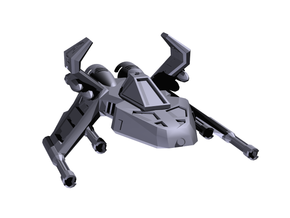 Pyro-GX in White Strong & Flexible Polished