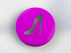 Stiletto Ear Bud Cover for GLASS in Purple Strong & Flexible Polished