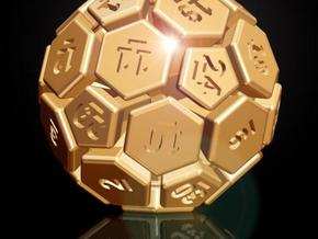 32-BIT SOCCER BALL DIE in Stainless Steel