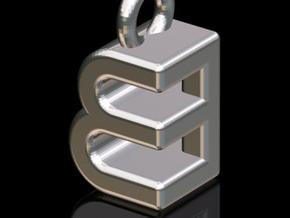 EEB #2 (3-d Logotype) in Stainless Steel