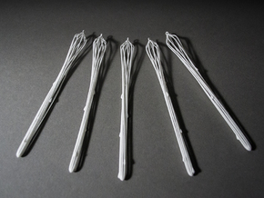 Icicles x5 in White Strong & Flexible