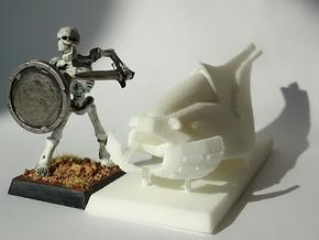 28mm Hover Bike (solid) in White Strong & Flexible